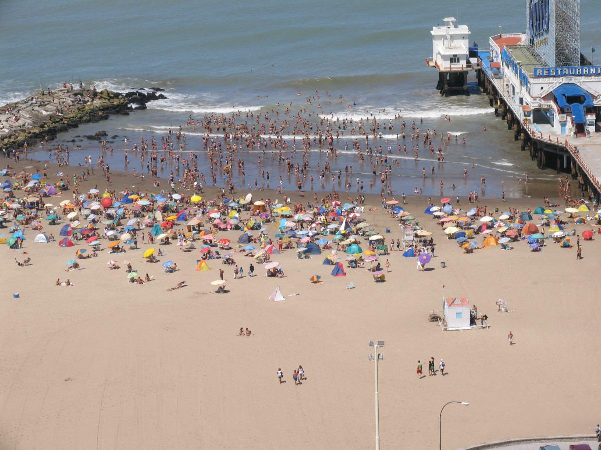 mar del plata 2 amb. frente al mar !! de lujo !!!