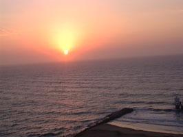 mar del plata dos ambientes frente al mar de lujo  5/6 per