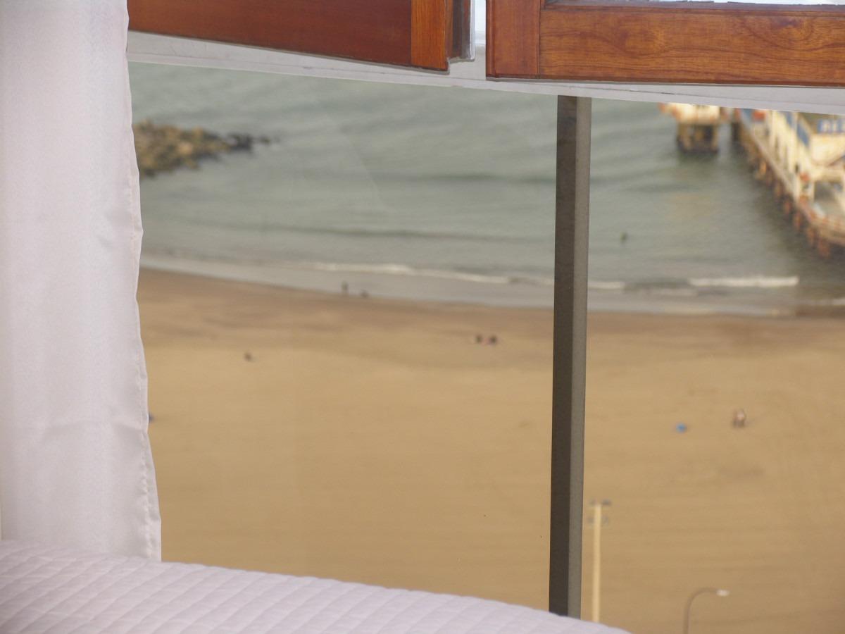 mar del plata dos ambientes frente al mar  de lujo