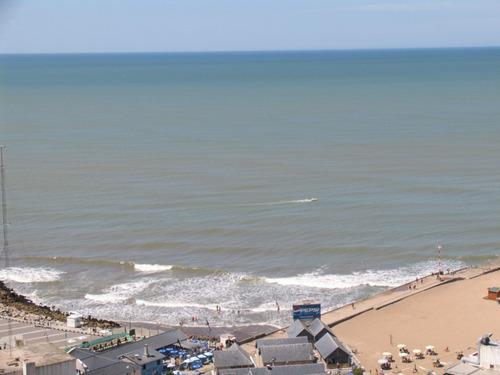 mar del plata, frente al mar, 2 amb  de lujo, miralos