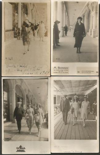 mar del plata lote de 13 fotos postales antiguas