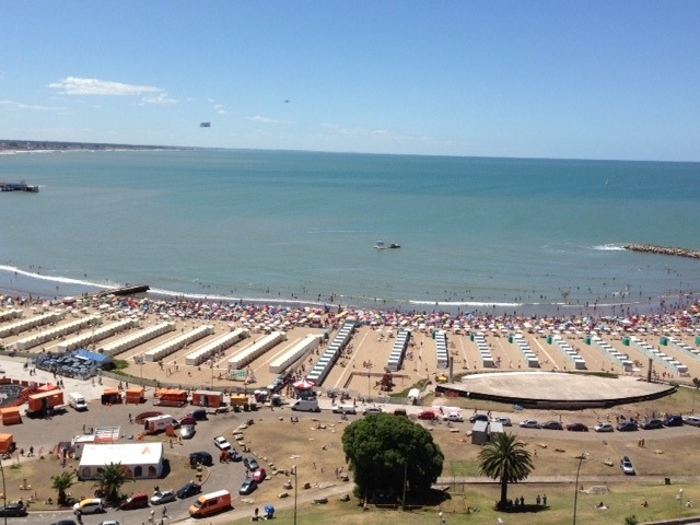 mar del plata vista al mar estudiantes marzo a diciembre