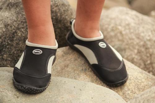 mar, rio, zapatos