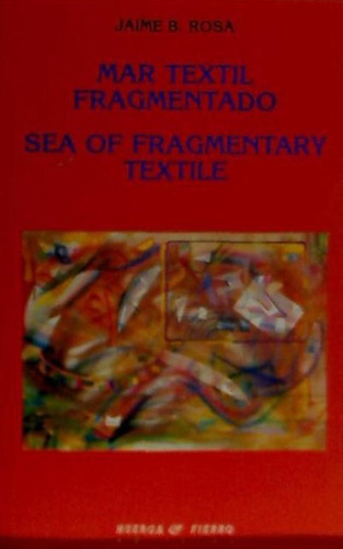mar textil fragmentado(libro poesía)