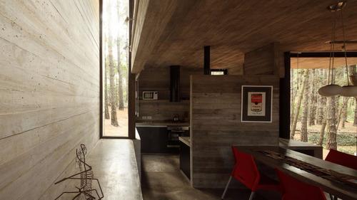mar y bosque, casa de diseño