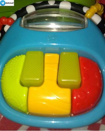 maraca sonajero musical con teclado