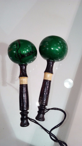 maracas artesanales llaneras   con muy buen sonido