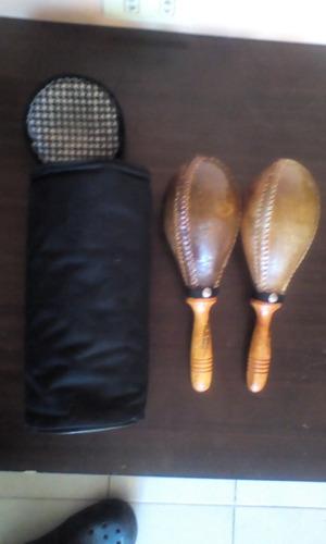 maracas de cuero sin usonuevas pablo emilio originales.