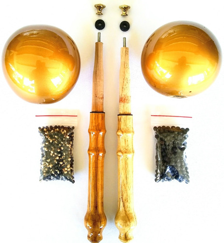 maracas llaneras profesionales desarmables + envío gratis