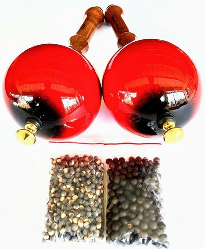 maracas llaneras profesionales desarmables + envío gratis.