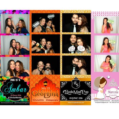 maracay alquiler fotocabina funnybooth bodas quinceaños