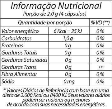 maracujá fitoway - passiflora alata 500mg - 60 cps