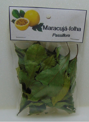 maracuja folha - 4 pacotes