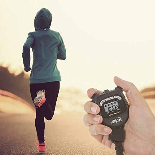 marathon adanac 3000 cronómetro digital batería del tempor