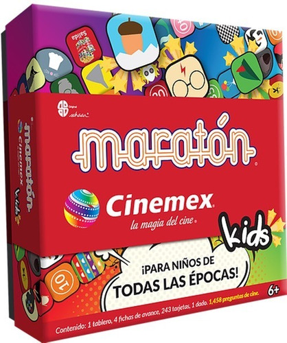 maratón cinemex kids
