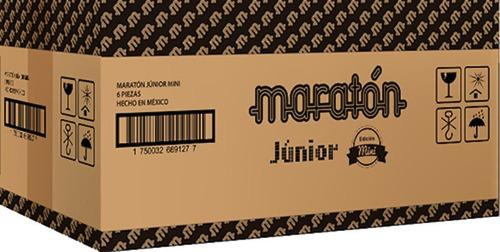 maratón júnior (caja con 6 piezas)