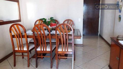 maravilhioso apartamento no tatuapé,  com 3 dormitórios, 01 suite,  à venda, 84 m² por r$ 530.000 ap 190733 p - ap1776