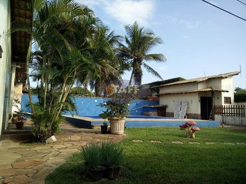 maravilhosa casa de alto padrão com 4 quartos sendo 3 suítes dentro de condomínio do lado praia em unamar - cabo frio! - ca0947