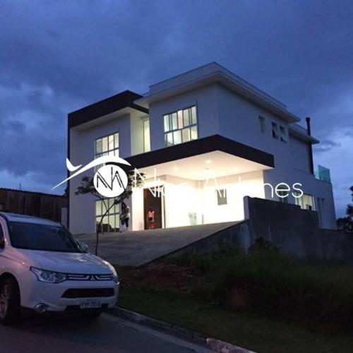 maravilhosa casa em condomínio fechado com infraestrutura completa. a 30 km do centro de sp - na10225
