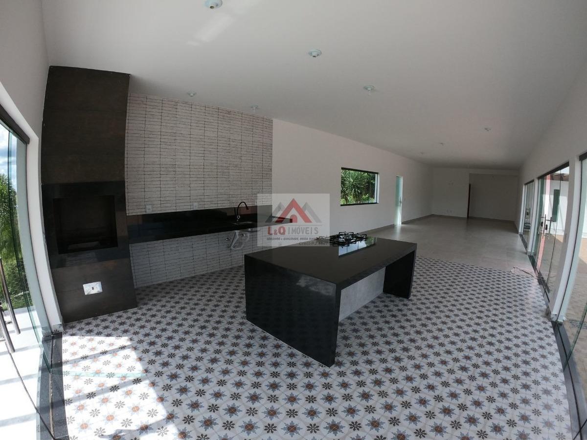 maravilhosa casa em estilo moderno a venda no vale do luar - 3898
