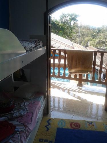 maravilhosa casa residencial em juquitiba com piscina