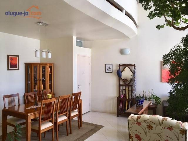 maravilhosa cobertura com 3 dormitórios ( 3 suítes ) à venda, 210 m² por r$ 840.000 - jardim aquarius - são josé dos campos/sp - co0103