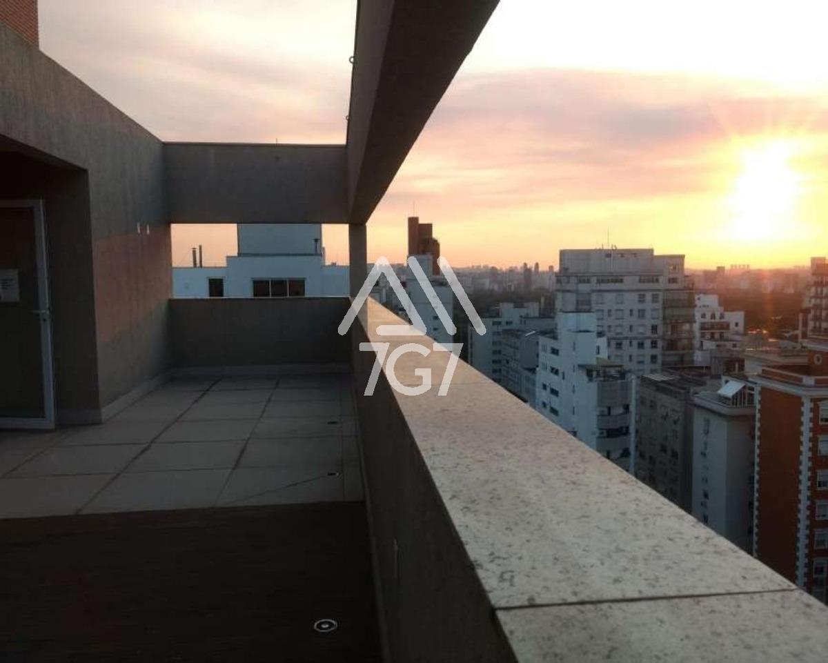 maravilhosa cobertura com vista do ibirapuera - ap10970 - 34787534
