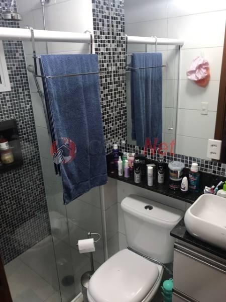 maravilhosa cobertura totalmente mobiliada em condomínio padrão para venda no bairro santa maria em são caetano - 4670