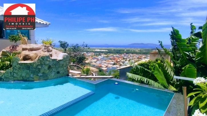 maravilhosa mansão em cabo frio - frente praia dunas peró - 741