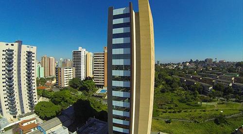 maravilhosa sala comercial, nova, no coração do bairro jardim!!!  prédio moderno com arquitetura arrojada!!! - sa0069