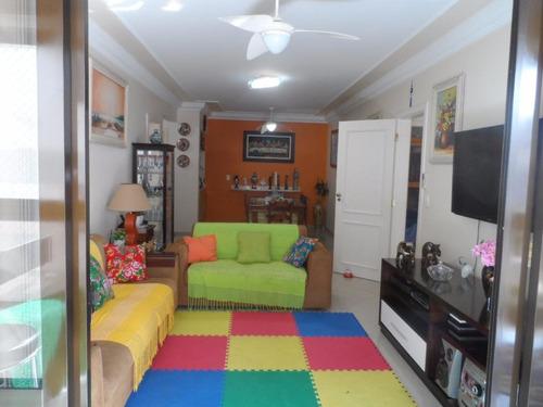maravilhoso apartamento 3 suítes com lazer - prédio frente ao mar tombo - guarujá - ap1193