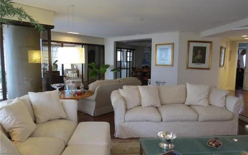 maravilhoso apartamento  com completíssima varanda gourmet, com 4 suites residencial à venda, panamby, são paulo.