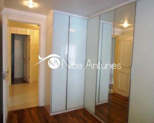 maravilhoso apartamento com vista linda e  permanente - na1269