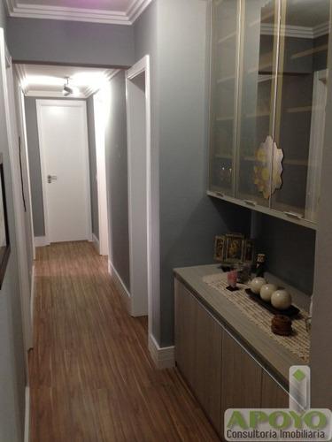maravilhoso apartamento em jardim prudência 103 m² - yo3563