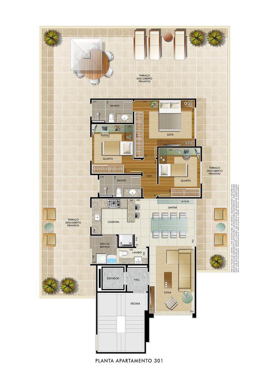 maravilhoso apartamento! melhor localizaçao - 1429