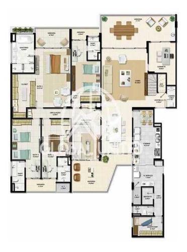 maravilhoso apartamento no condomínio la vista morro do conselho no rio vermelho - reap40011