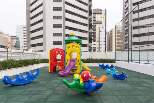 maravilhoso apartamento soleil curitibano no água verde!!