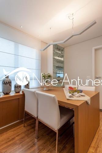maravilhoso apartamento totalmente decorado fino acabamento!!! - na10120