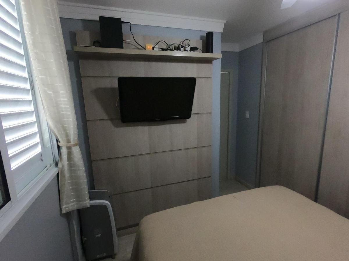 maravilhoso apto de 2 dorms c/armários planejados. cod 84537