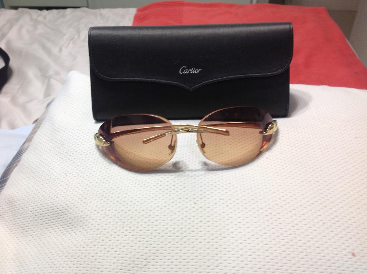 c001d5749c5 maravilhoso óculos cartier panthere original abaixou. Carregando zoom.