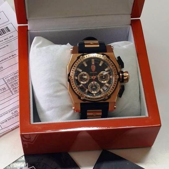 5c689bcd0e7 Maravilhoso Relógio Constantim Chronograph Rosé - R  1.599