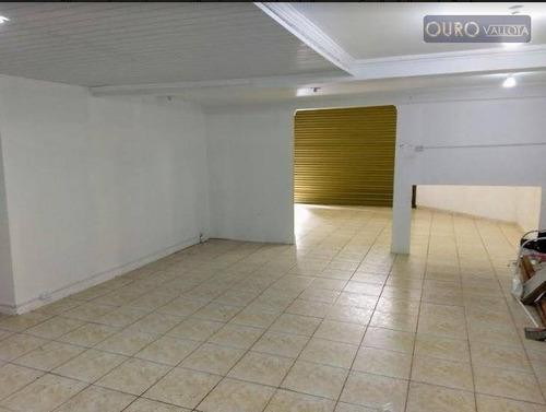 maravilhoso salão comercial para locação, 112m,² vila carrão, são paulo. sl180901d - sl0150
