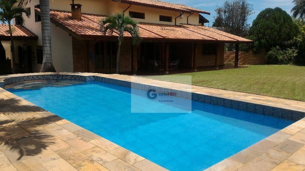 maravilhoso sobrado com piscina, 460 m² por r$ 1.080.000 - cidade universitária - campinas/sp - so0016