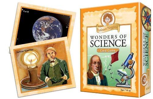 maravillas la ciencia profesor noggin una tarjeta educativo