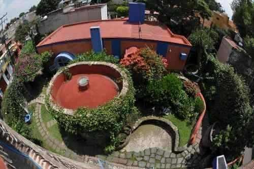 maravillosa casa con departamento en coyoacan