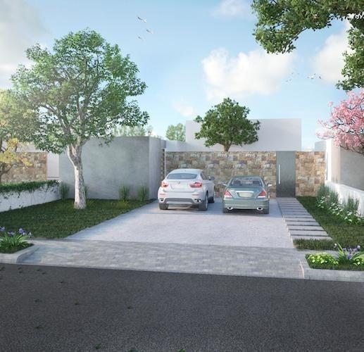 maravillosa casa en residencial chacté - modelo b