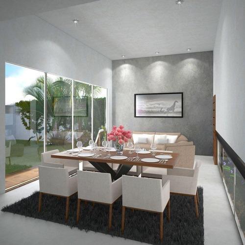 maravillosa casa en residencial chacté - modelo c