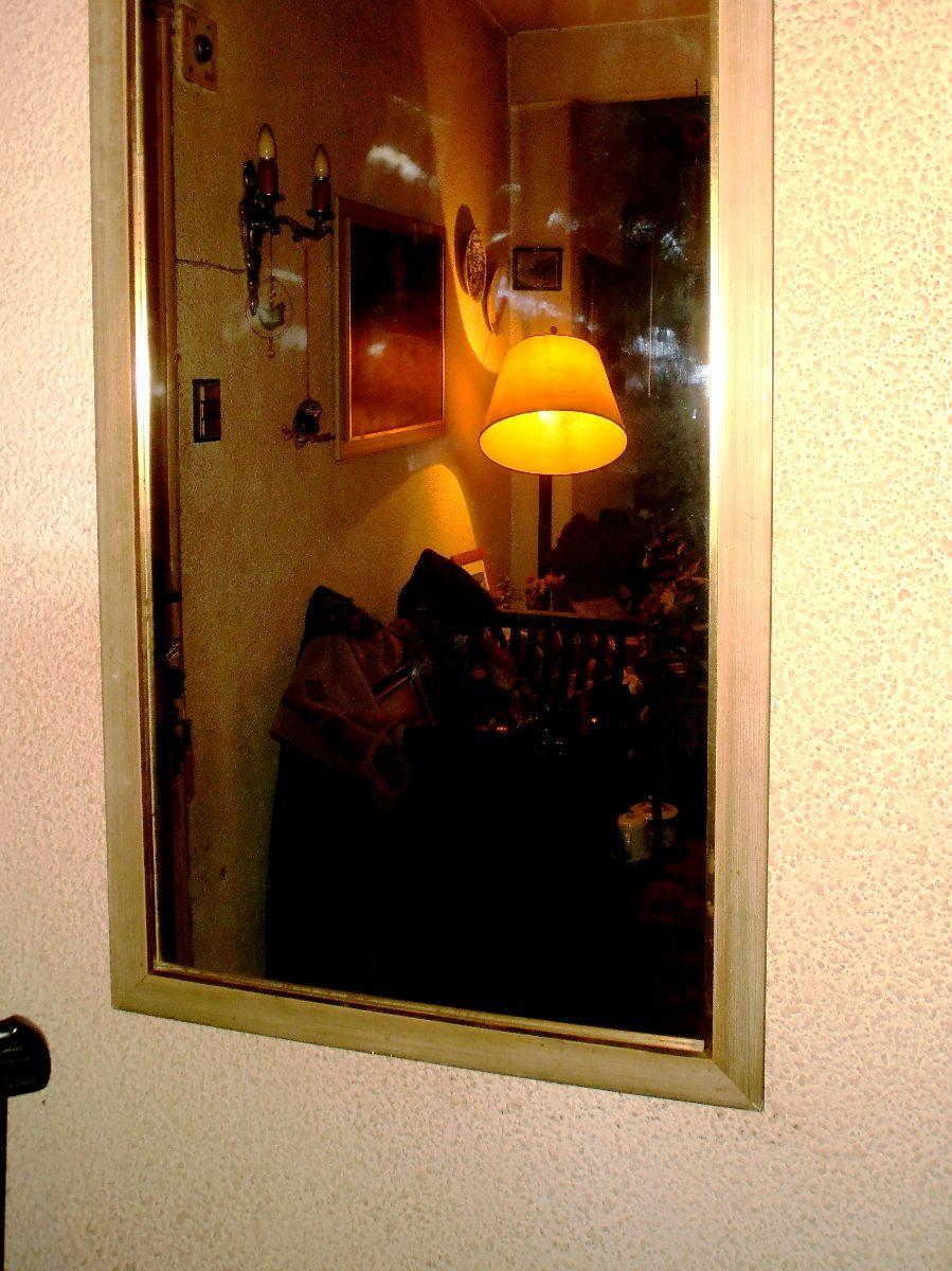 Increíble Gran Espejo Con Marco De Oro Ilustración - Ideas ...