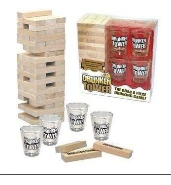 maravilloso jenga drunken tower