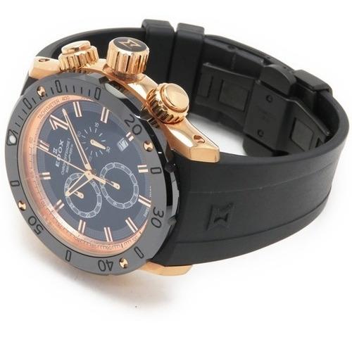 maravilloso reloj edox chronoffshore 1022137rnir